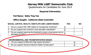 Harvey Milk Questionaire