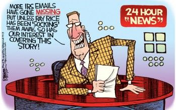 Cartoon: IRS emails