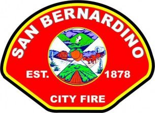 San Bernardino fire patch