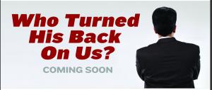 Turned His Back Website