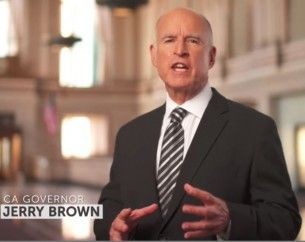 Jerry Brown, Prop. 1 ad