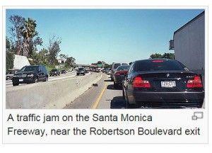 Los Angeles traffic jam, wikimedia