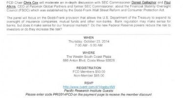 PRI-Forum for Corporate Directors discussion Oct. 23