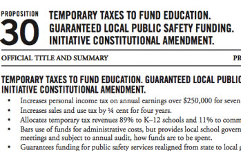 Want to extend Prop. 30 tax increases?