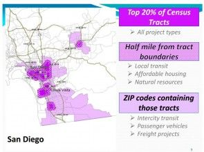San Diego affordable housing tracts, census