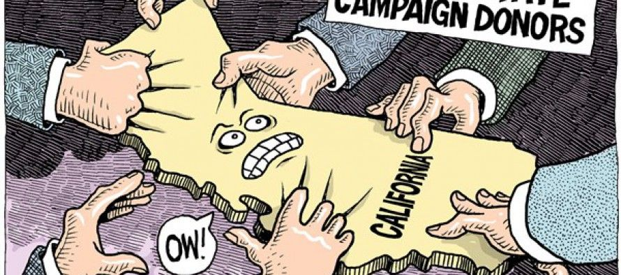 Out-of-state campaign contributions