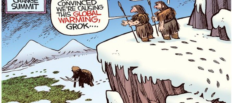 Cartoon: Global warming
