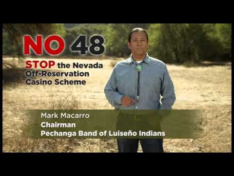 NEW: Prop 48: Pechanga opposes expansion of tribal gaming