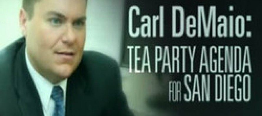 Dems make Peters-DeMaio race a referendum on Tea Party