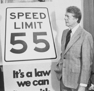 55 speed limit