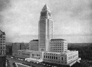 Los Angeles city hall, wikimedia