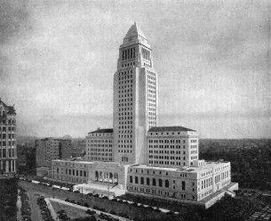 Los Angeles city hall, wikimedia
