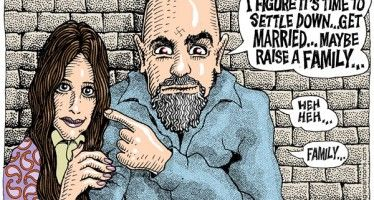 Cartoon: Manson Family values
