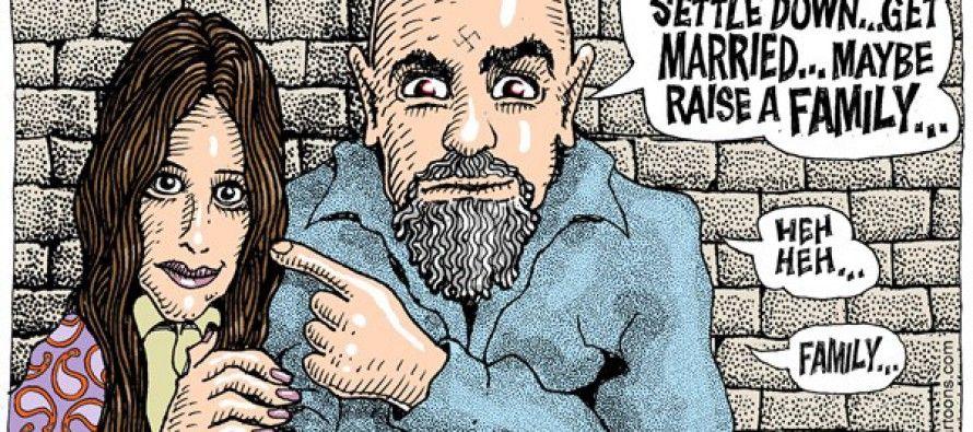 Cartoon: Manson Family values