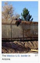 Mexico-U.S. border, illegal immigrants, wikimedia