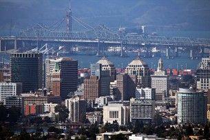 Oakland skyline, wikimedia
