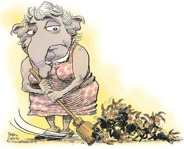 Republican sweep, cagle, Nov. 10, 2014
