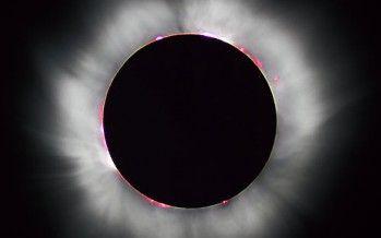 Biggest solar farm eclipsed