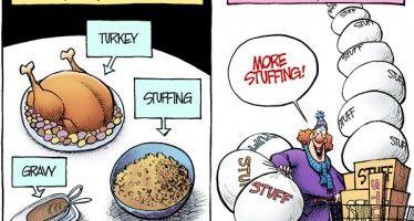 Thanksgiving rush