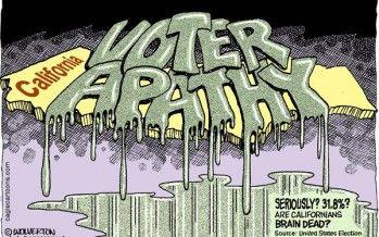 Cartoon: Voter apathy