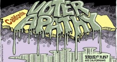Cartoon: Voter apathy