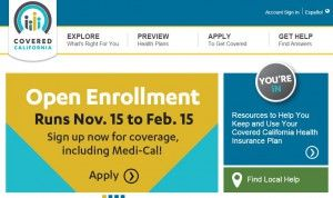 covered CA open enrollment