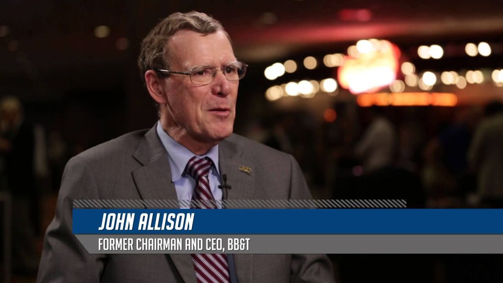 NEW: VIDEO: John Allison — The Right Social and Economic Policies for Growth