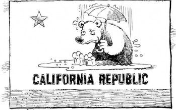 Cartoon: California rainin'