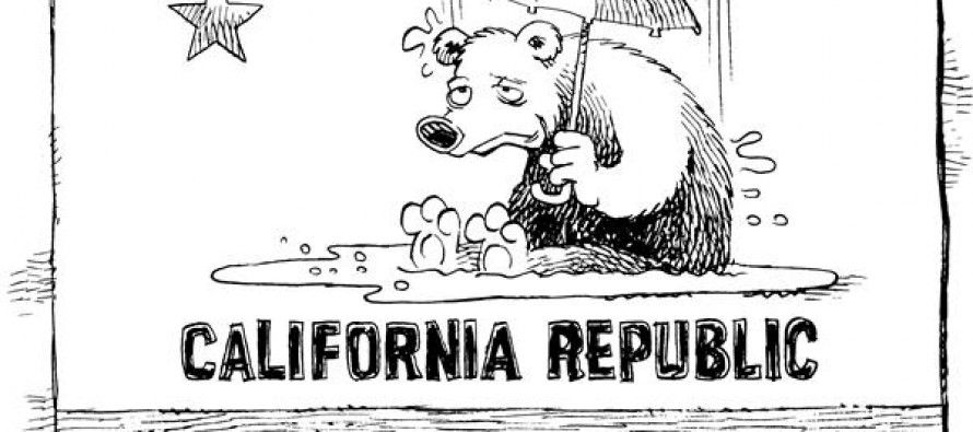 Cartoon: California rainin'