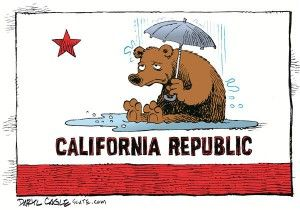 California rain, cagle, Dec. 15, 2014