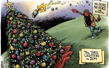 Cartoon: Tree lighting