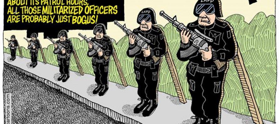 Cartoon: LAPD body cams