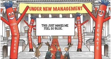Cartoon: Red Senate