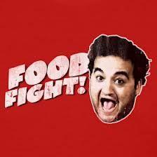belushi food fight