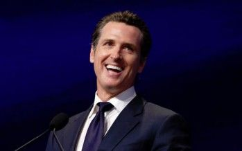 Gavin Newsom rips 'defeatist Democrats' who won't embrace single-payer