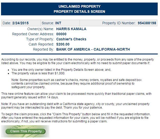 Kamala Harris property