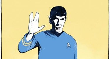 Cartoon: Leonard Nimoy, RIP
