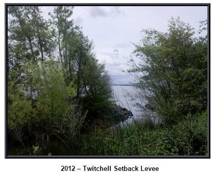 Twitchell setback levee, DWR photo