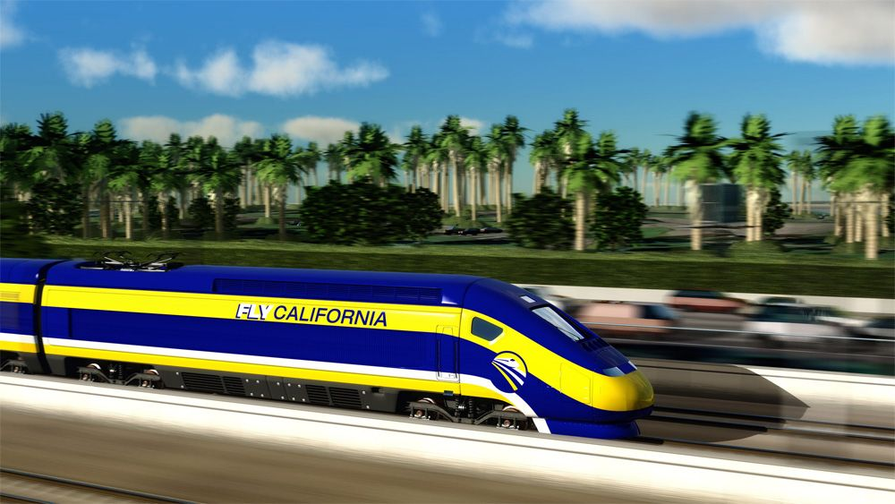 high-speed rail fly california