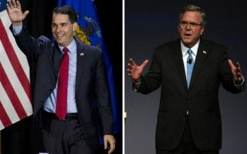 Video: 2016 Showdown: Scott Walker vs. Jeb Bush