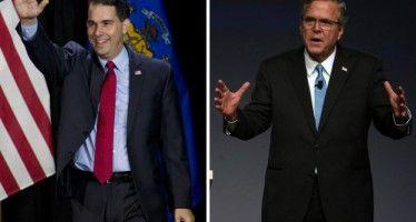Video: 2016 Showdown: Scott Walker vs. Jeb Bush