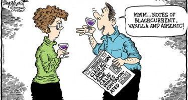 CARTOON: CA wine and arsenic