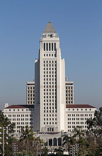 Los Angeles city hall wikimedia