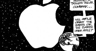 CARTOON: Apple in orbit