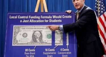 Black Caucus brings its clout to CA school funding fight