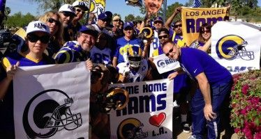 L.A. gets Rams, maybe Chargers