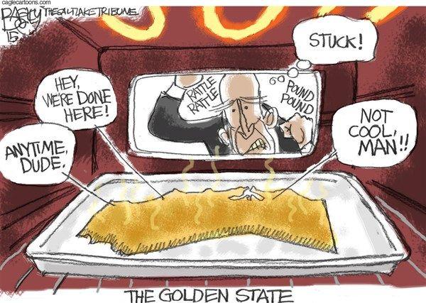 Drought Cartoon