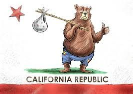 leaving california hitchhiking cartoon