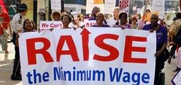 State senate committee approves minimum wage hike