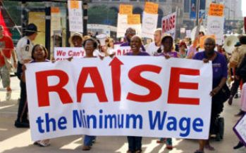 Minimum wage debate heats up in Los Angeles